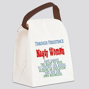 Nasty Persistence Canvas Lunch Bag