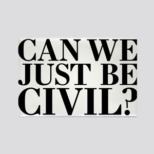 Can we just be civil? Magnets