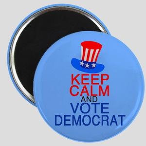 Democrat Keep Calm Magnet