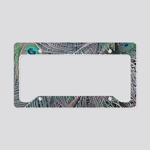 Falling Feathers License Plate Holder