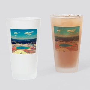 Grand Prismatic Spring, Yellowstone Drinking Glass