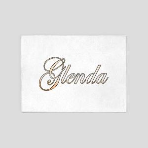 Gold Glenda 5'x7'Area Rug