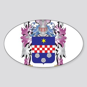 Merckx Coat of Arms - Family Crest Sticker