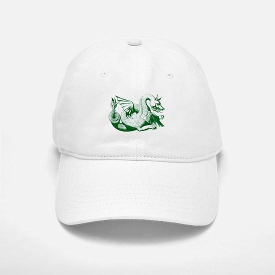 Green Dragon Baseball Baseball Baseball Cap
