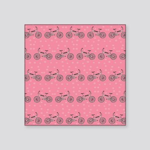 Bicycles pattern Sticker