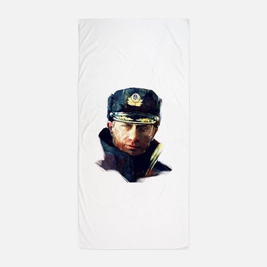 Vladimir Putin Beach Towel