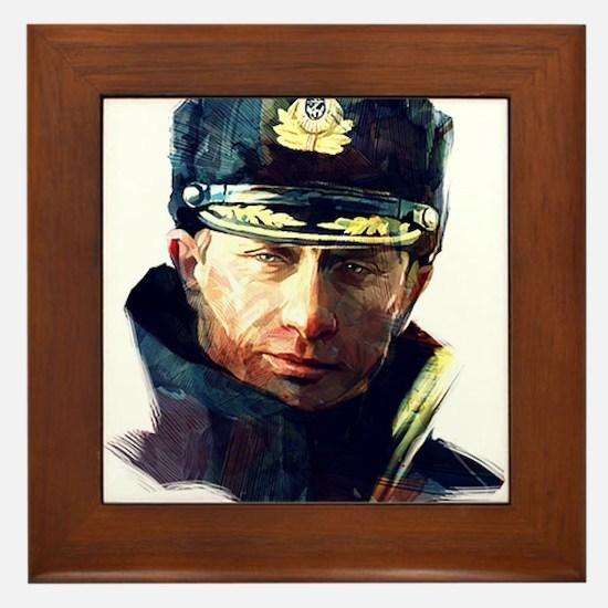Vladimir Putin Framed Tile