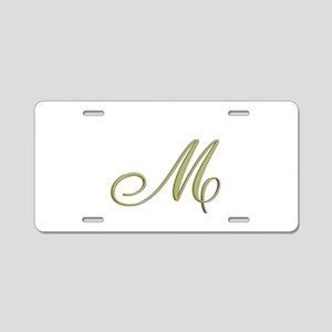 Choose Your Colors Monogram Aluminum License Plate