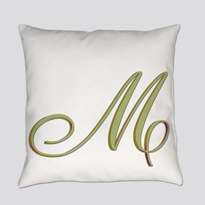 Choose Your Colors Monogram Everyday Pillow