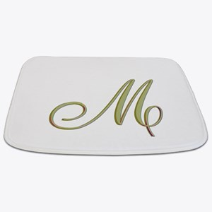 Choose Your Colors Monogram Bathmat