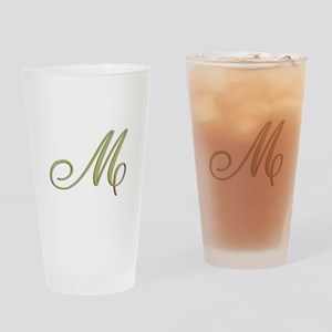 Choose Your Colors Monogram Drinking Glass