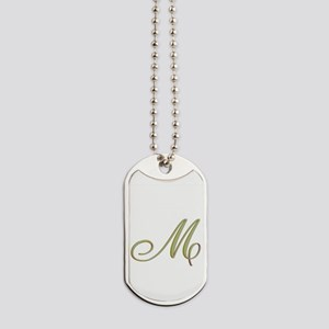 Choose Your Colors Monogram Dog Tags