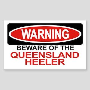 QUEENSLAND HEELER Rectangle Sticker