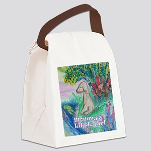 Mommy's Little Girl Canvas Lunch Bag