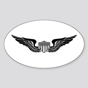 Aviator Oval Sticker
