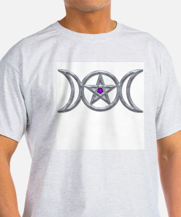 Metallic Triple Goddess T-Shirt