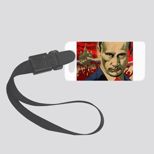 Vladimir Putin Small Luggage Tag