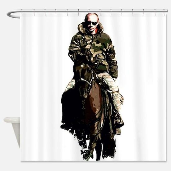 Vladimir Putin Shower Curtain