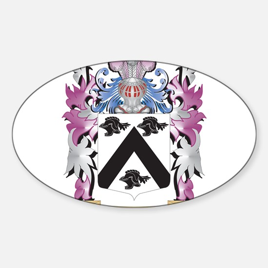 Messinger Coat of Arms - Family Crest Decal