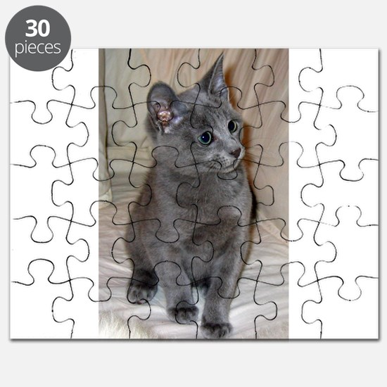 russian blue kitten Puzzle