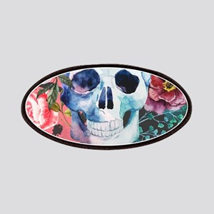 Flowers and Skull Patch