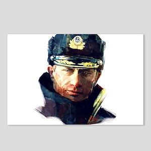 Vladimir Putin Postcards (Package of 8)