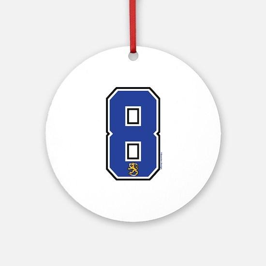 FI Finland Suomi Hockey 8 Ornament (Round)