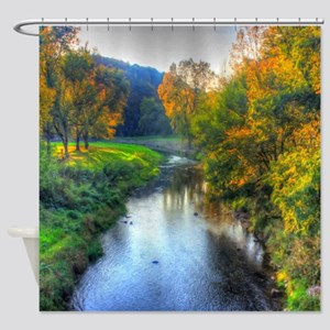 Apple River Canyon State Park, Illi Shower Curtain
