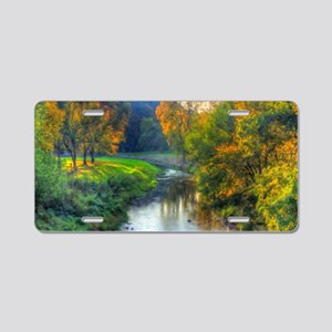 Apple River Canyon State Pa Aluminum License Plate