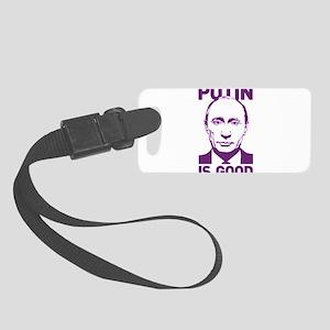 Vladimir Putin Small Luggage Tag