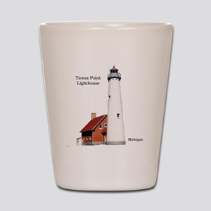 Tawas Point Lighthouse Shot Glass