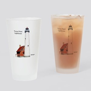 Tawas Point Lighthouse Drinking Glass