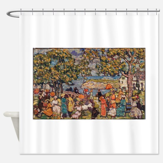 Picnic by Prendergast Shower Curtain