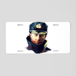 Vladimir Putin Aluminum License Plate