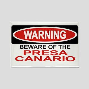 PRESA CANARIO Rectangle Magnet