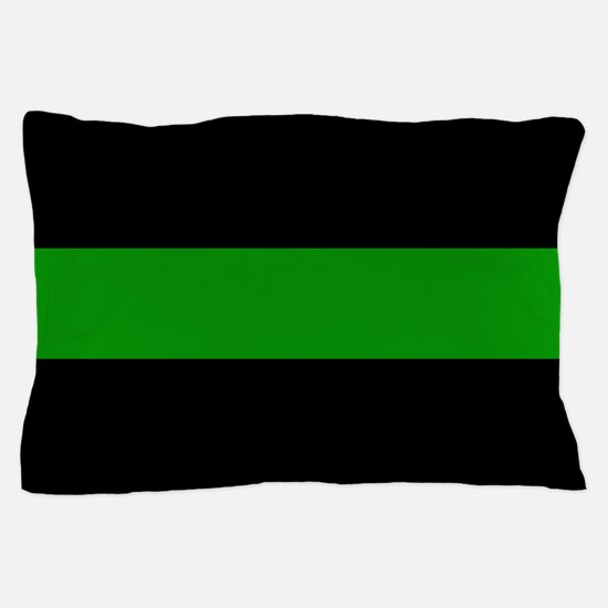 The Thin Green Line Pillow Case
