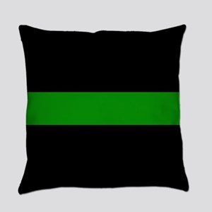 The Thin Green Line Everyday Pillow