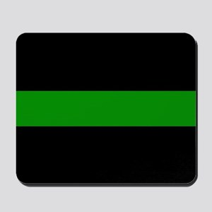 The Thin Green Line Mousepad