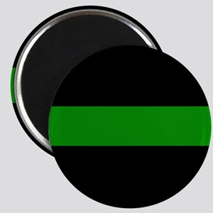 The Thin Green Line Magnet
