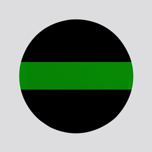 The Thin Green Line Button