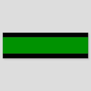 The Thin Green Line Sticker (Bumper)