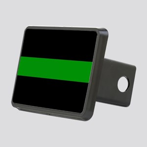 The Thin Green Line Rectangular Hitch Cover