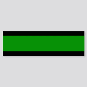 The Thin Green Line Sticker (Bumper)