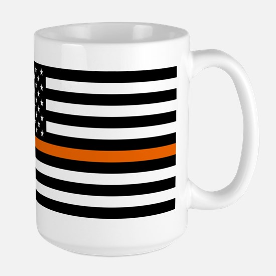 Search & Rescue: Black Flag & Thin Oran Large Mug