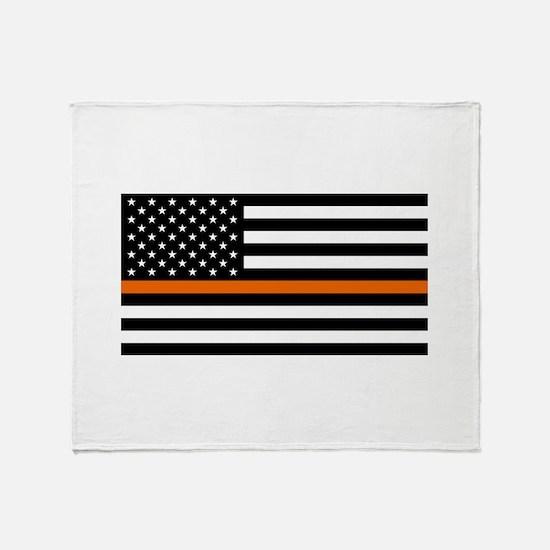 Search & Rescue: Black Flag & Thin O Throw Blanket