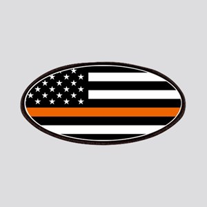 Search & Rescue: Black Flag & Thin Orange Li Patch