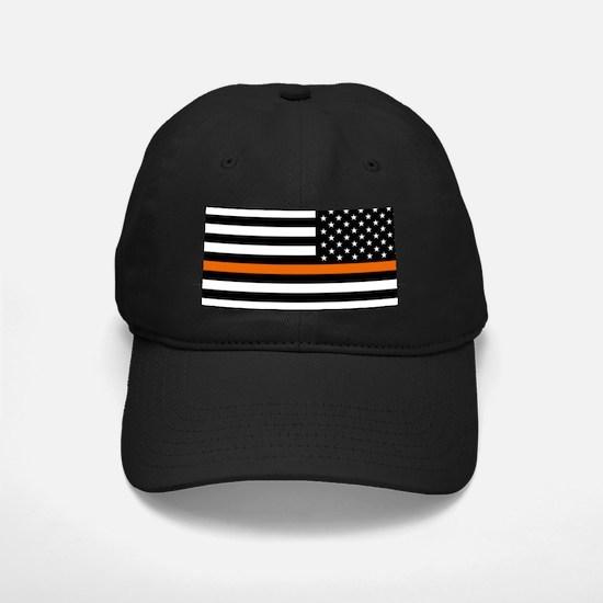 Search & Rescue: Black Flag & Thin Orang Baseball Hat