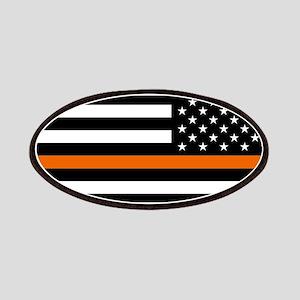Search & Rescue: Black Flag & Thin Orange Li Patch
