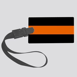 Search & Rescue: The Thin Orange Large Luggage Tag