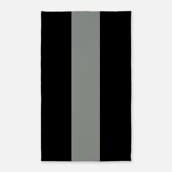 The Thin Grey Line Area Rug